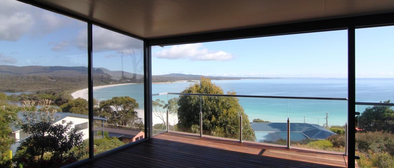 Views Glassed in Deck
